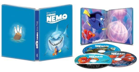 Finding Nemo 4k UHD SteelBook