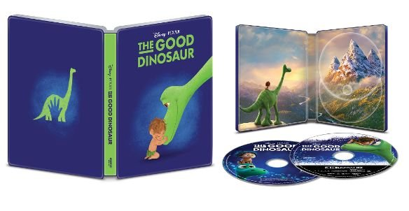 The Good Dinosaur 4k UHD SteelBook