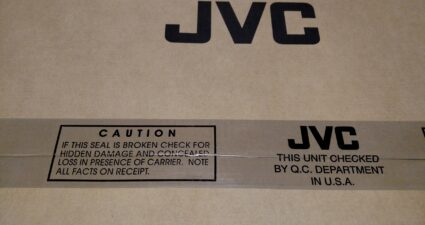 JVC DLA-NX7 Box Label
