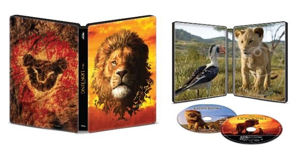 The Lion King (2019) 4k UHD SteelBook