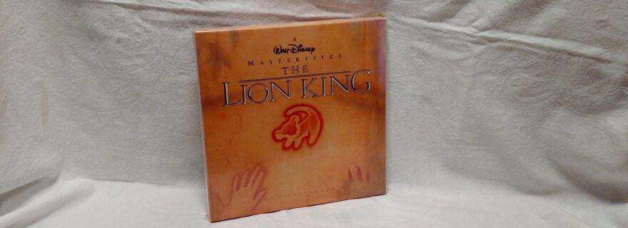 The Lion King Laserdisc box set