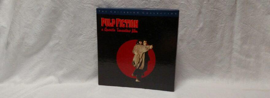 Pulp Fiction Criterion Laserdisc