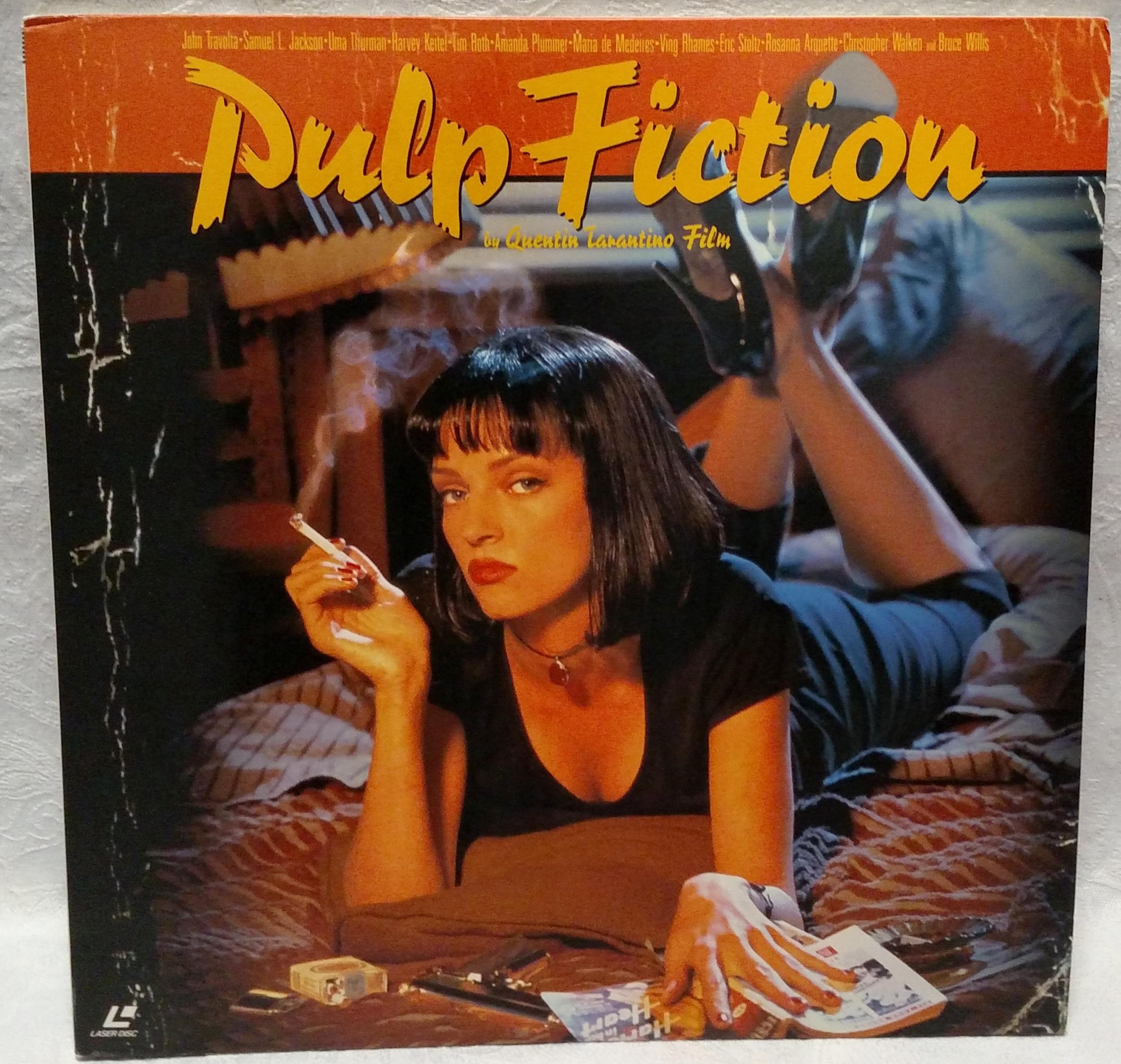 Pulp Fiction Japanese Laserdisc Front