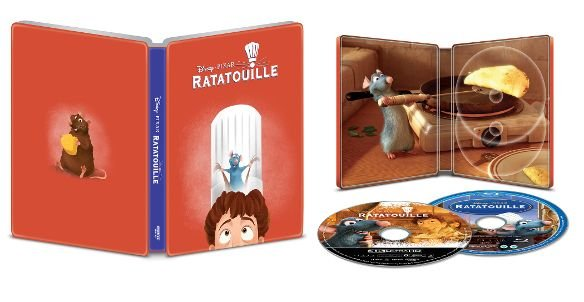 Ratatouille 4k UHD SteelBook
