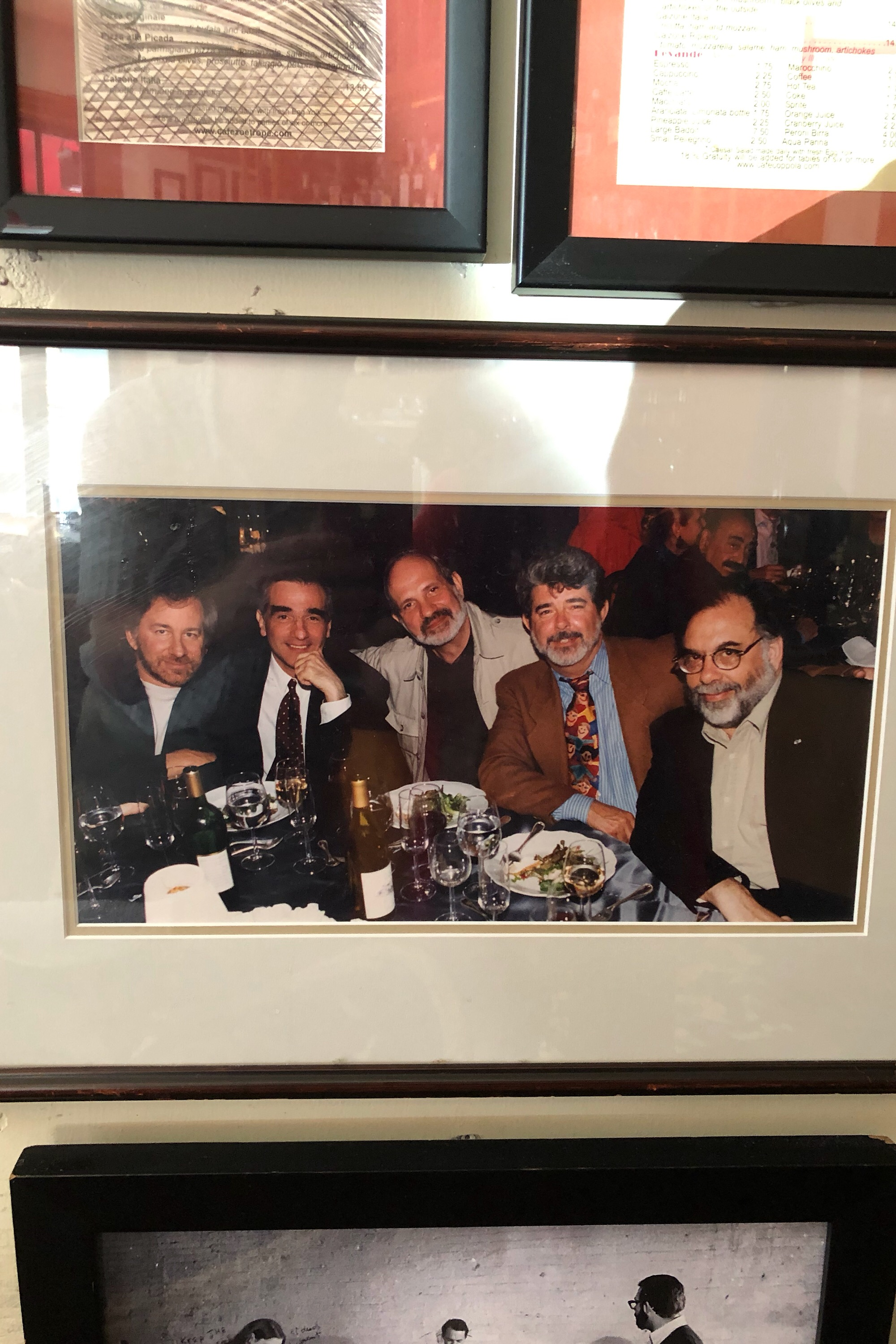 Quite the quintet... Spielberg, Scorsese, De Palma, Lucas, and Coppola in their prime.