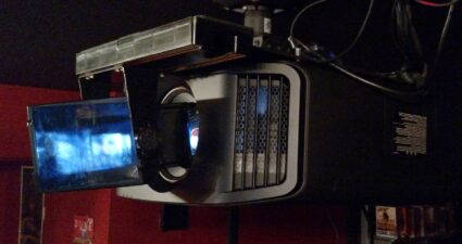 Projector with Panamorph