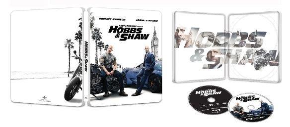 Hobbs & Shaw 4k Ultra HD SteelBook inside