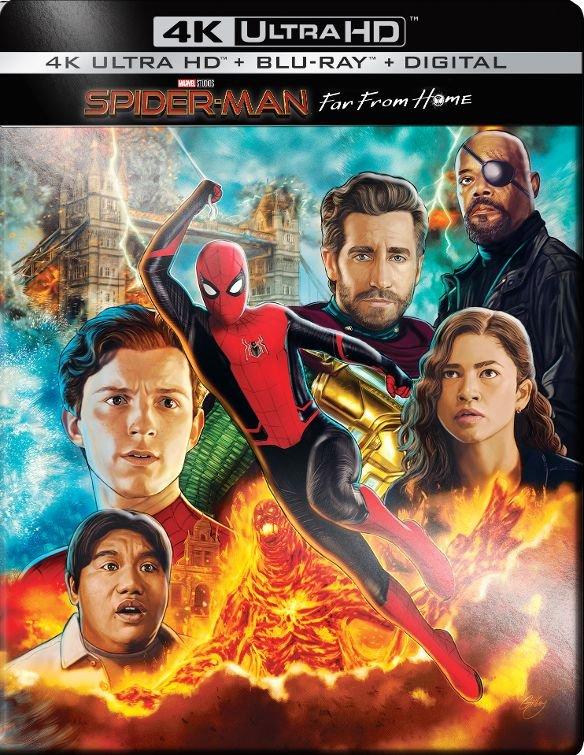 Spider-Man: Far from Home 4k Ultra HD SteelBook