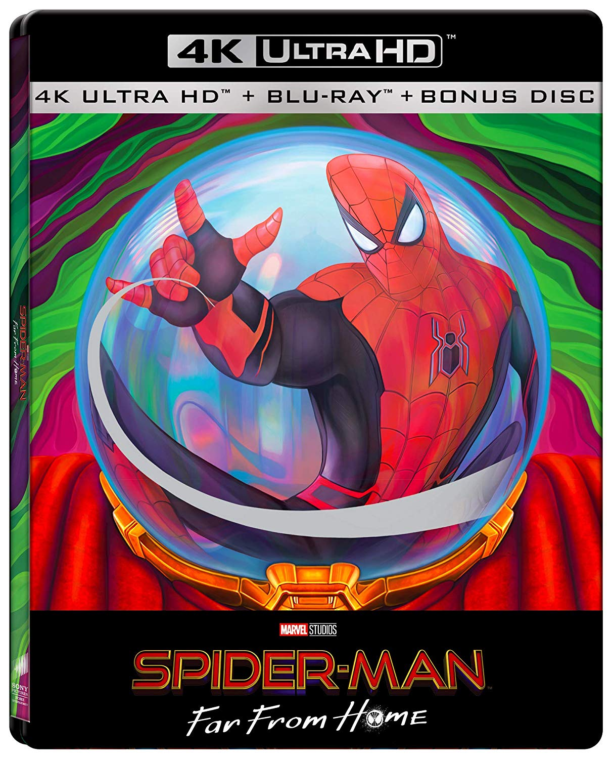 Spider-Man: Far from Home Italian SteelBook front