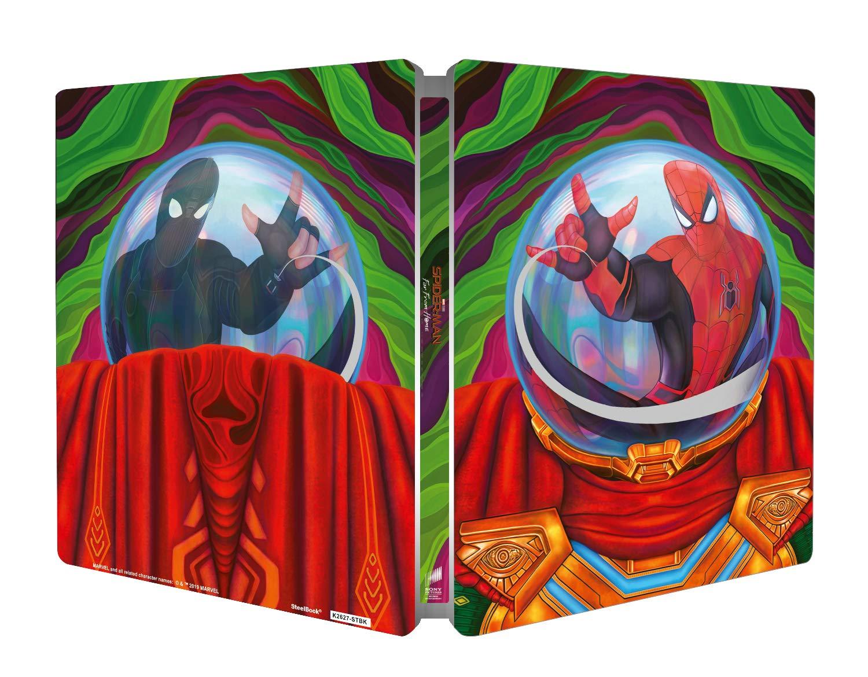 Spider-Man: Far from Home Italian SteelBook open