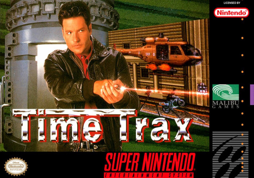 Time Trax SNES Game