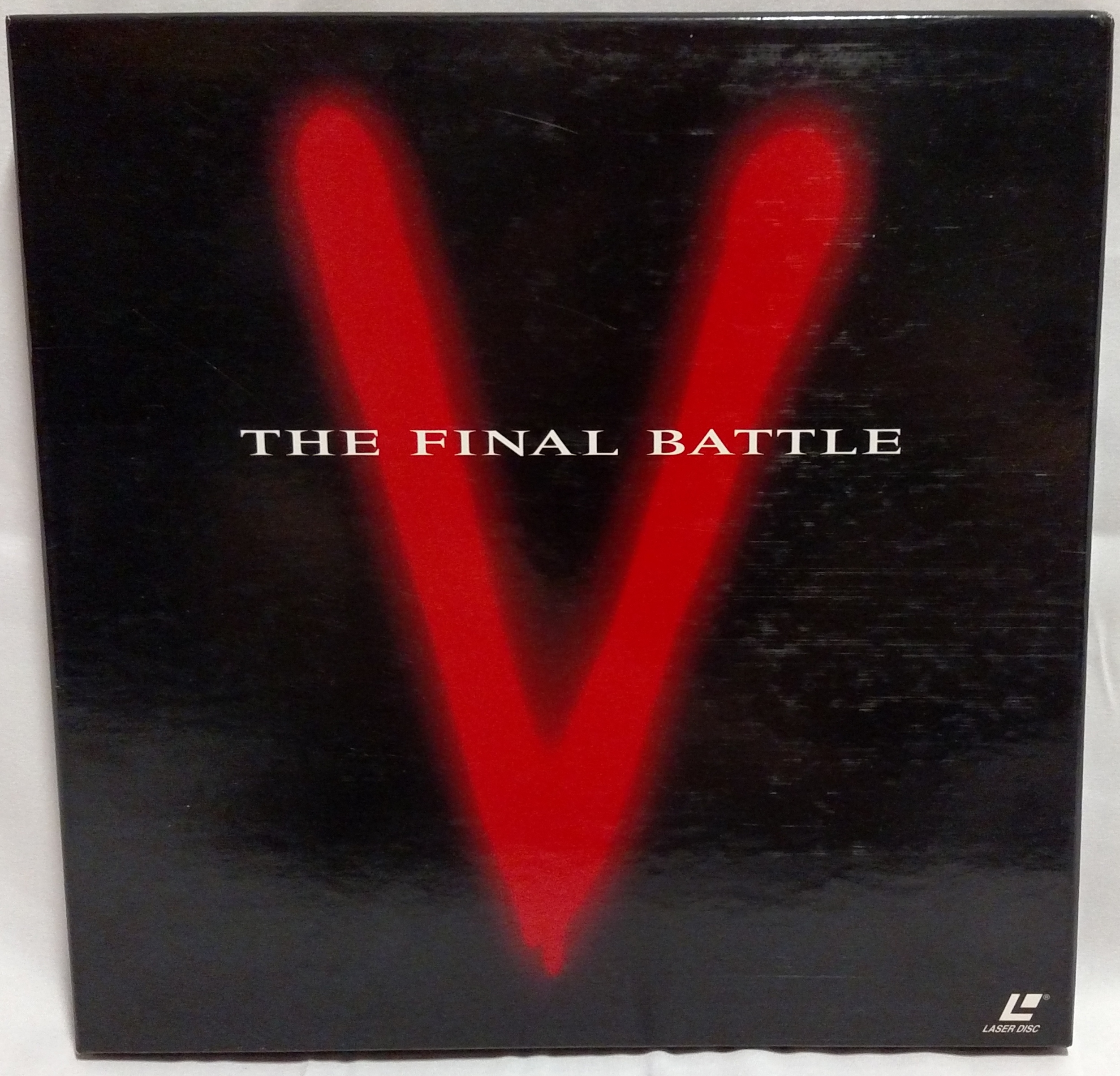 V: The Final Battle Laserdisc Front