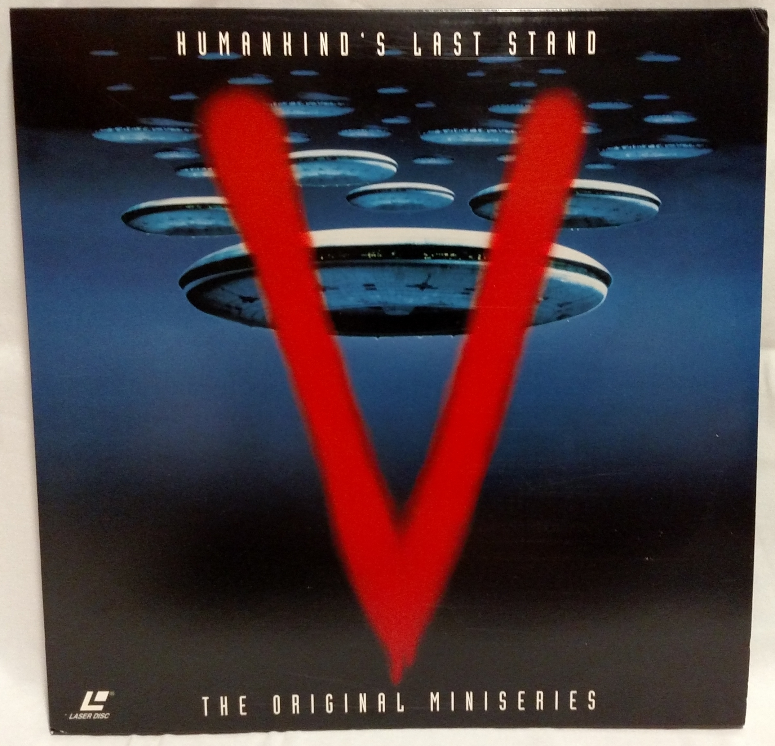 V: The Original Miniseries Laserdisc Front