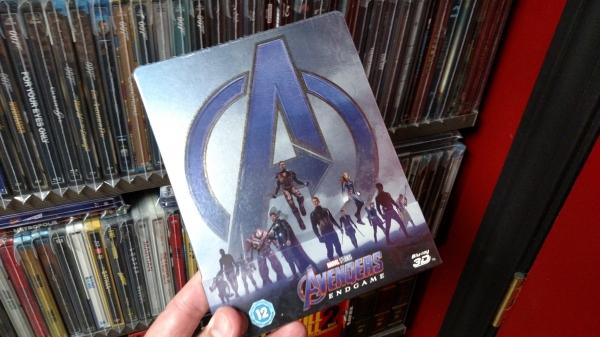 Avengers: Endgame Zavvi 3D SteelBook