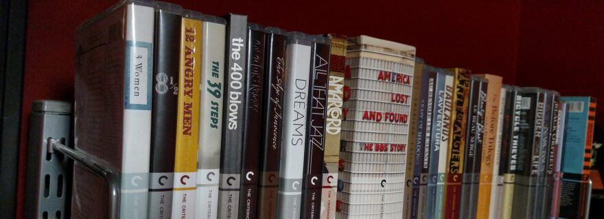 Criterion Collection Blu-rays