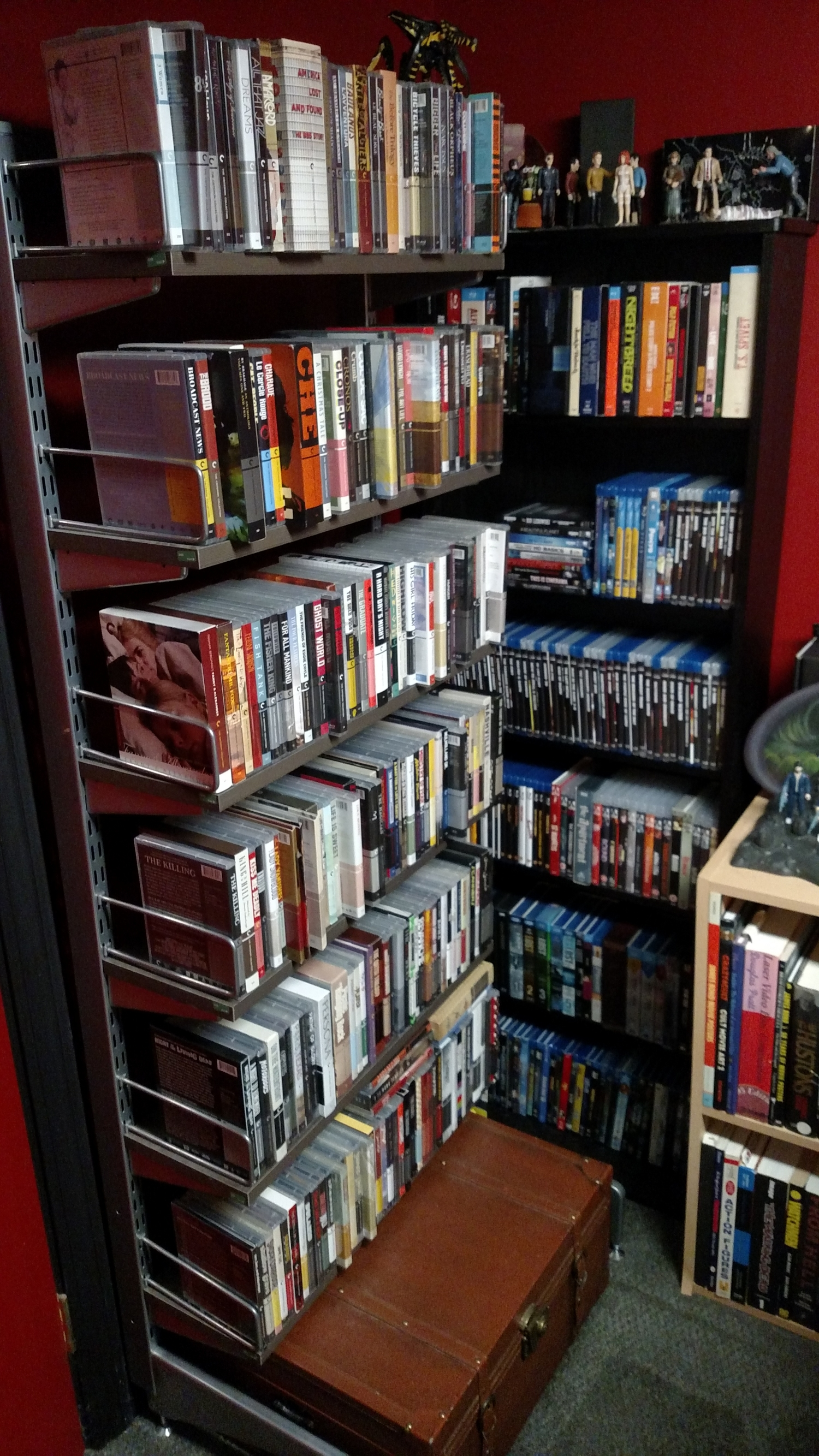 Criterion Blu-ray Shelf