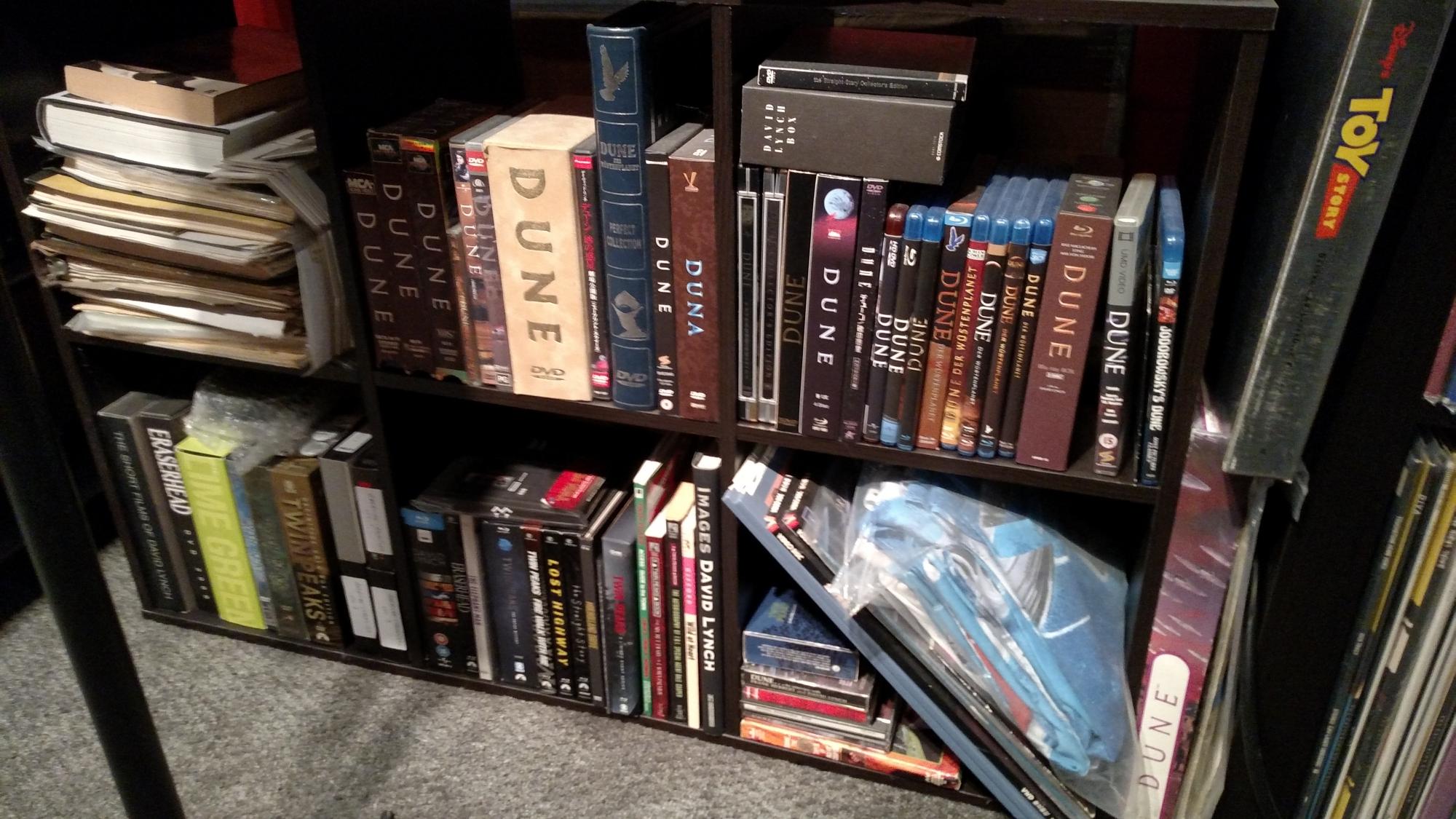 David Lynch Video Shelf
