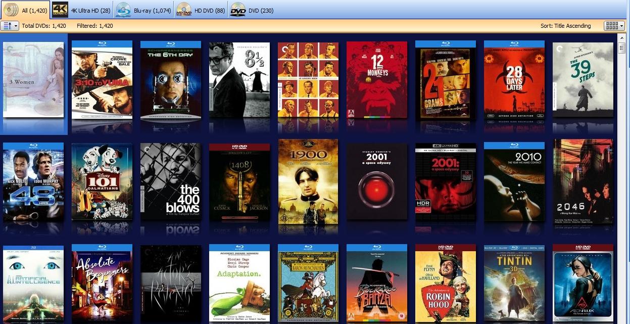 DVD Profiler Movie Collection