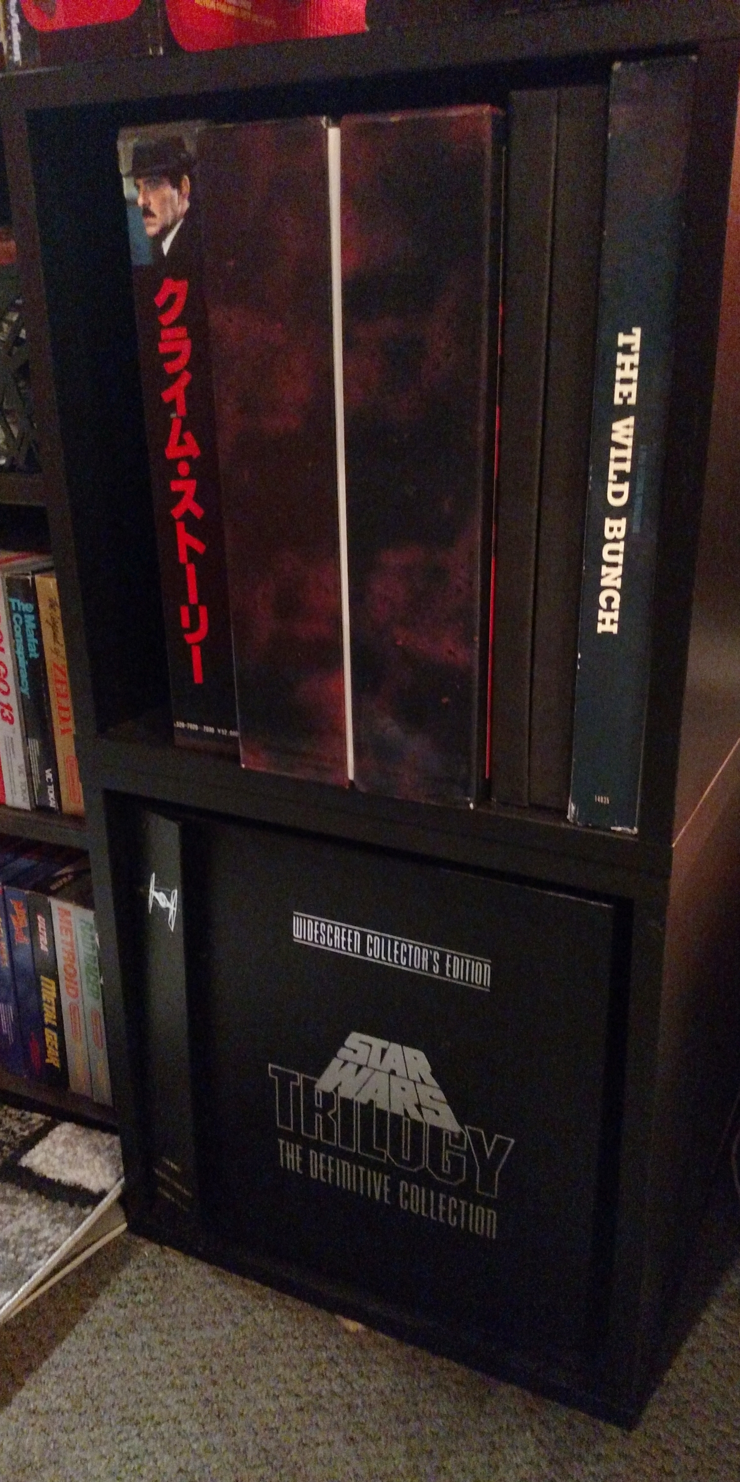Laserdisc Shelf