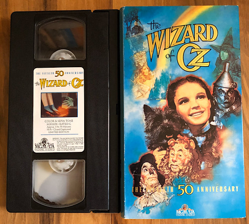 The Wizard of Oz - 1989 50th Anniversary VHS