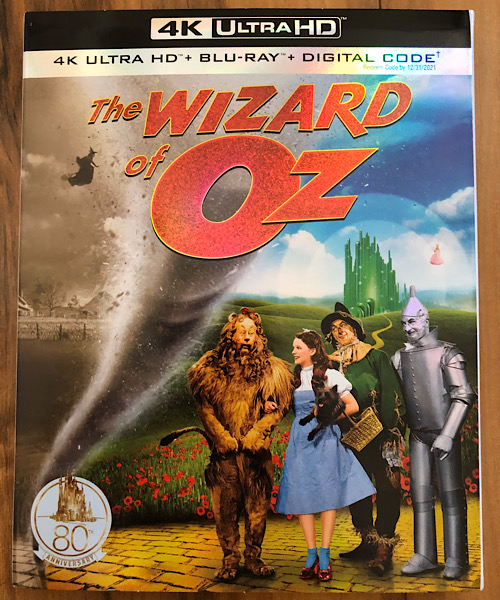 The Wizard of Oz - 2019 4k Ultra HD Blu-ray
