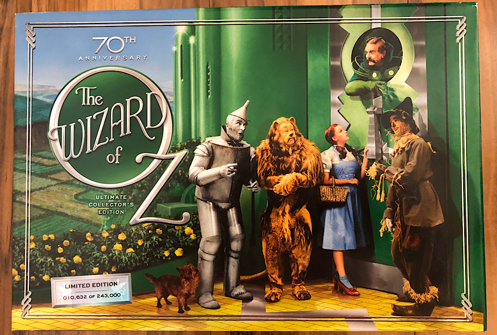The Wizard of Oz - 2009 70th Anniversary Ultimate Collector's Edition Blu-ray