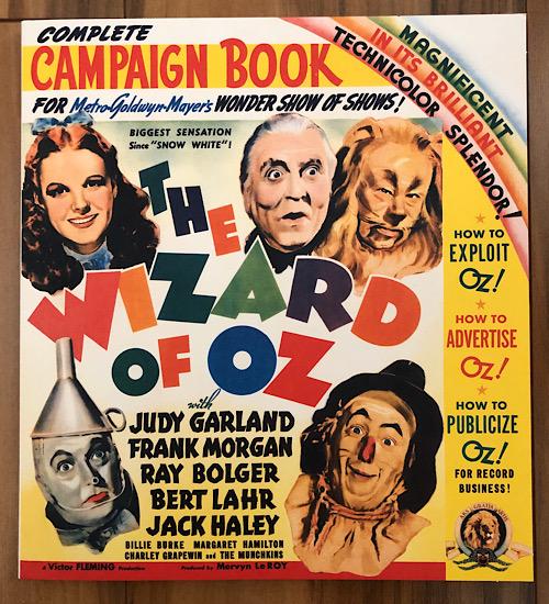 2009 70th Anniversary Ultimate Collector's Edition Blu-ray Promo Campaign Book