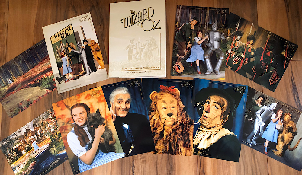 The Wizard of Oz - 2005 Three-Disc Collector's Edition DVD Photo Cards