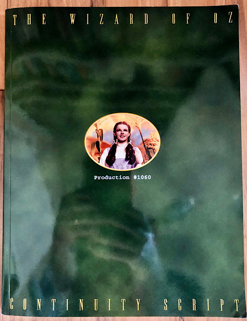 The Wizard of Oz - 1999 Deluxe Edition DVD Script Book