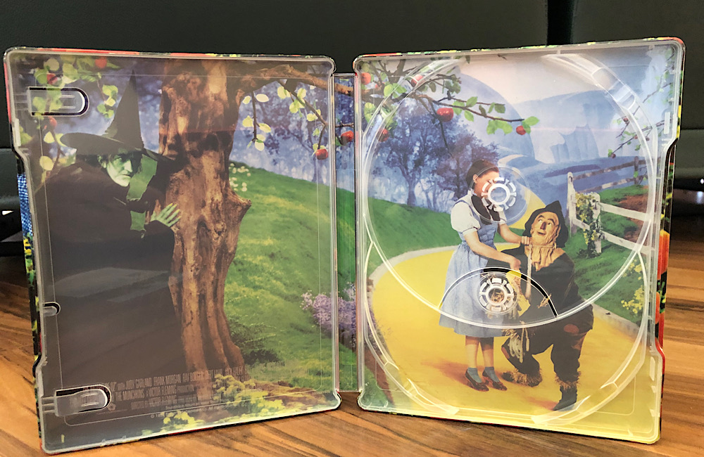 The Wizard of Oz - 2019 4k Ultra HD SteelBook interior