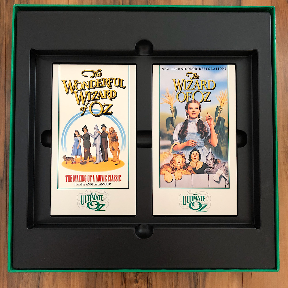 The Wizard of Oz - 1993 Ultimate Oz VHS Box Set Tapes