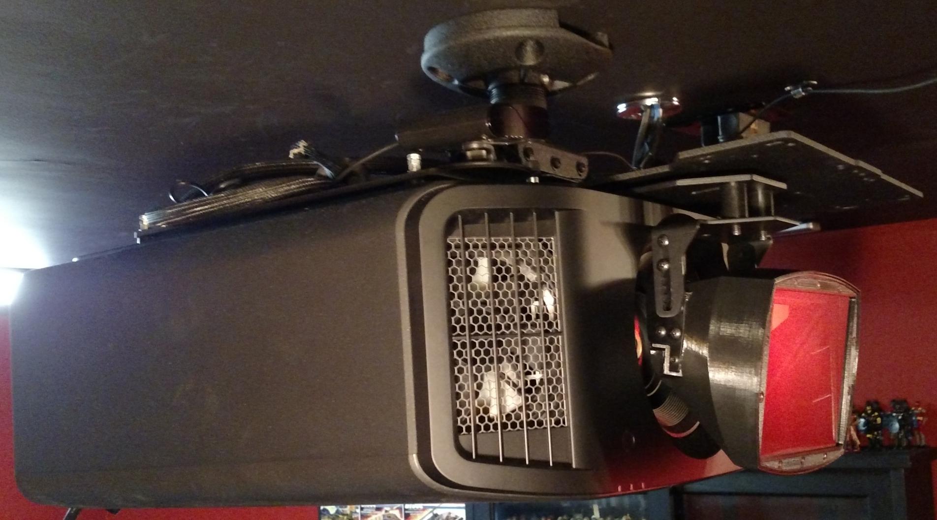 JVC DLA-NX7 with Panamorph Paladin DCR Lens