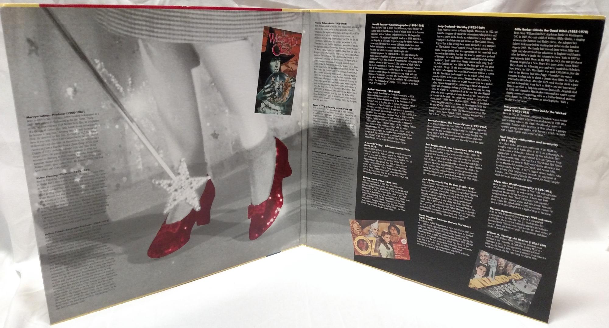 The Wizard of Oz - 1988 Criterion Laserdisc Interior Gatefold