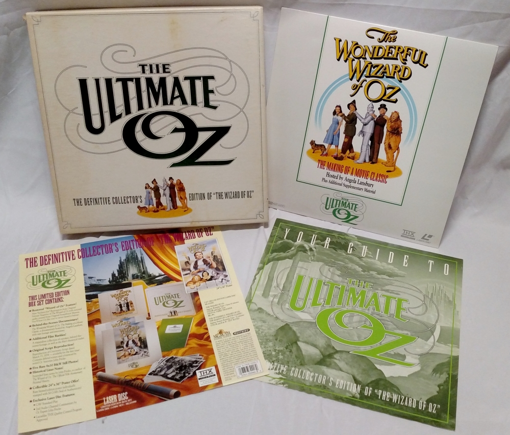 The Wizard of Oz - 1993 Ultimate Oz Laserdisc Box Set