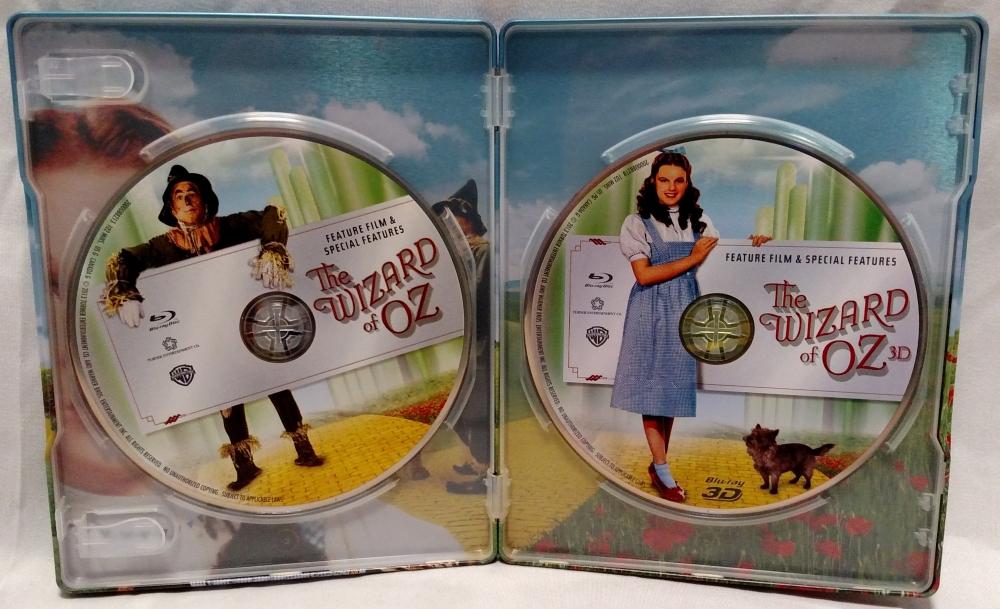 The Wizard of Oz - 2013 3D MetalPak Interior