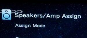 Denon Receiver Speaker Settings