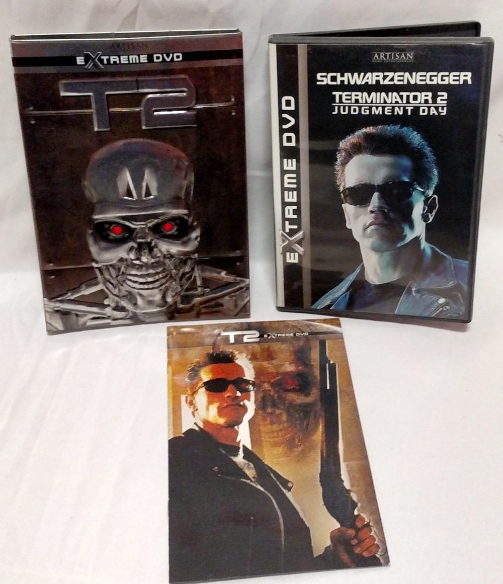 Terminator 2 Extreme DVD contents