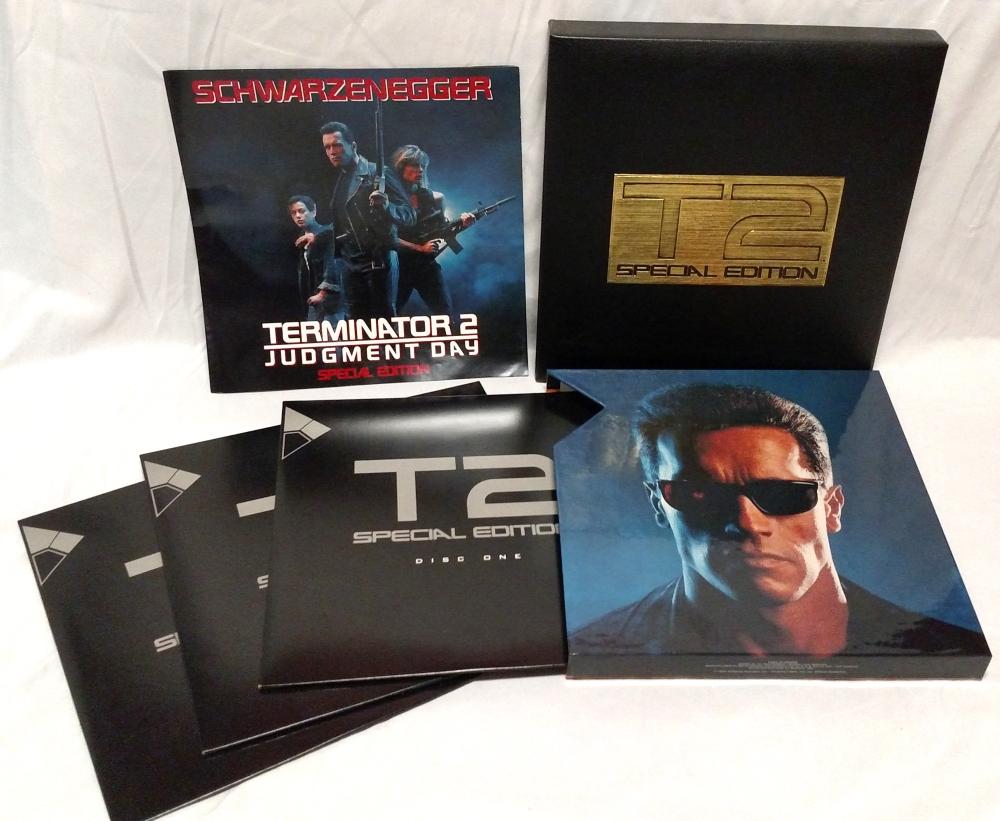 Terminator 2: Pioneer Special Edition Laserdisc
