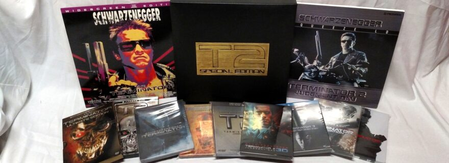 Terminator Laserdisc, DVD & Blu-ray