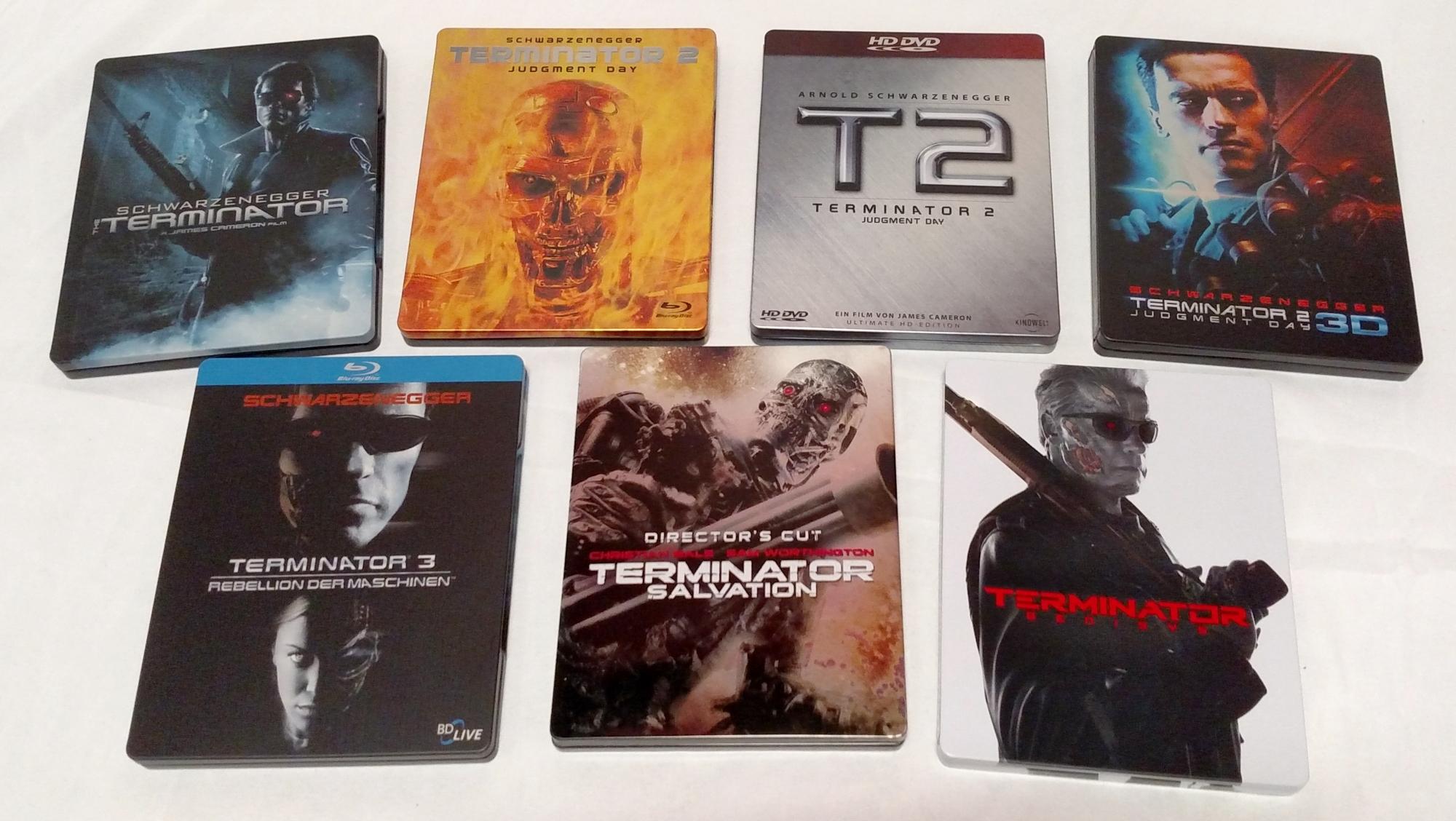 Terminator SteelBooks