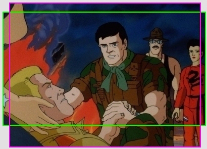 Gi joe the movie 1987 blu ray review high def digest gi joe comparison 3 overlay fandeluxe Image collections