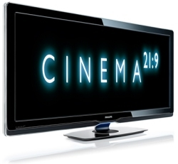 Philips Cinema 21:9 HDTV.