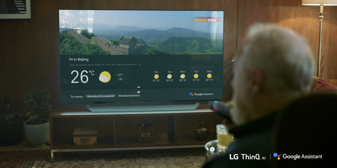 LG launches first TVs with Google Assistant