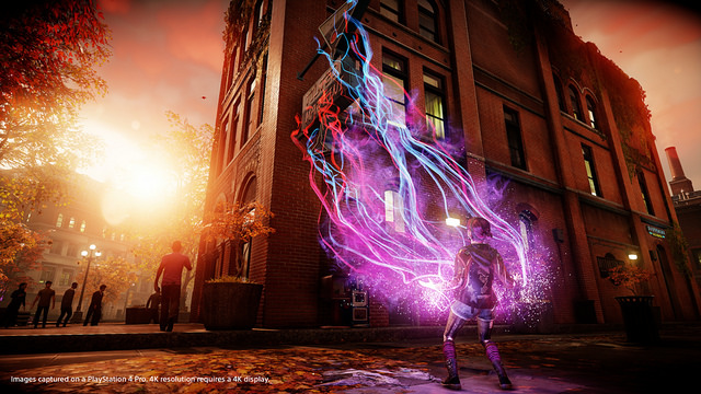Sucker Punch Details Three Reasons Why 'Infamous' Is Better on PS4 Pro