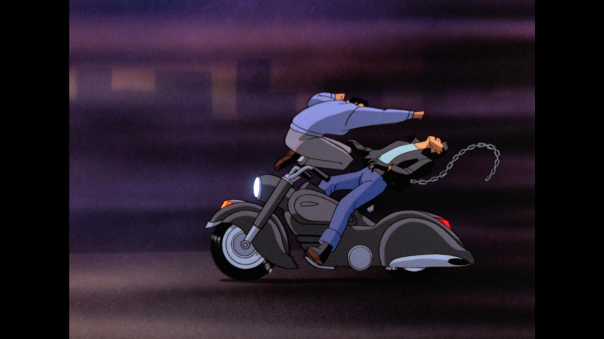 Batman: Mask of the Phantasm Blu-ray Review Biker Takedown Standard