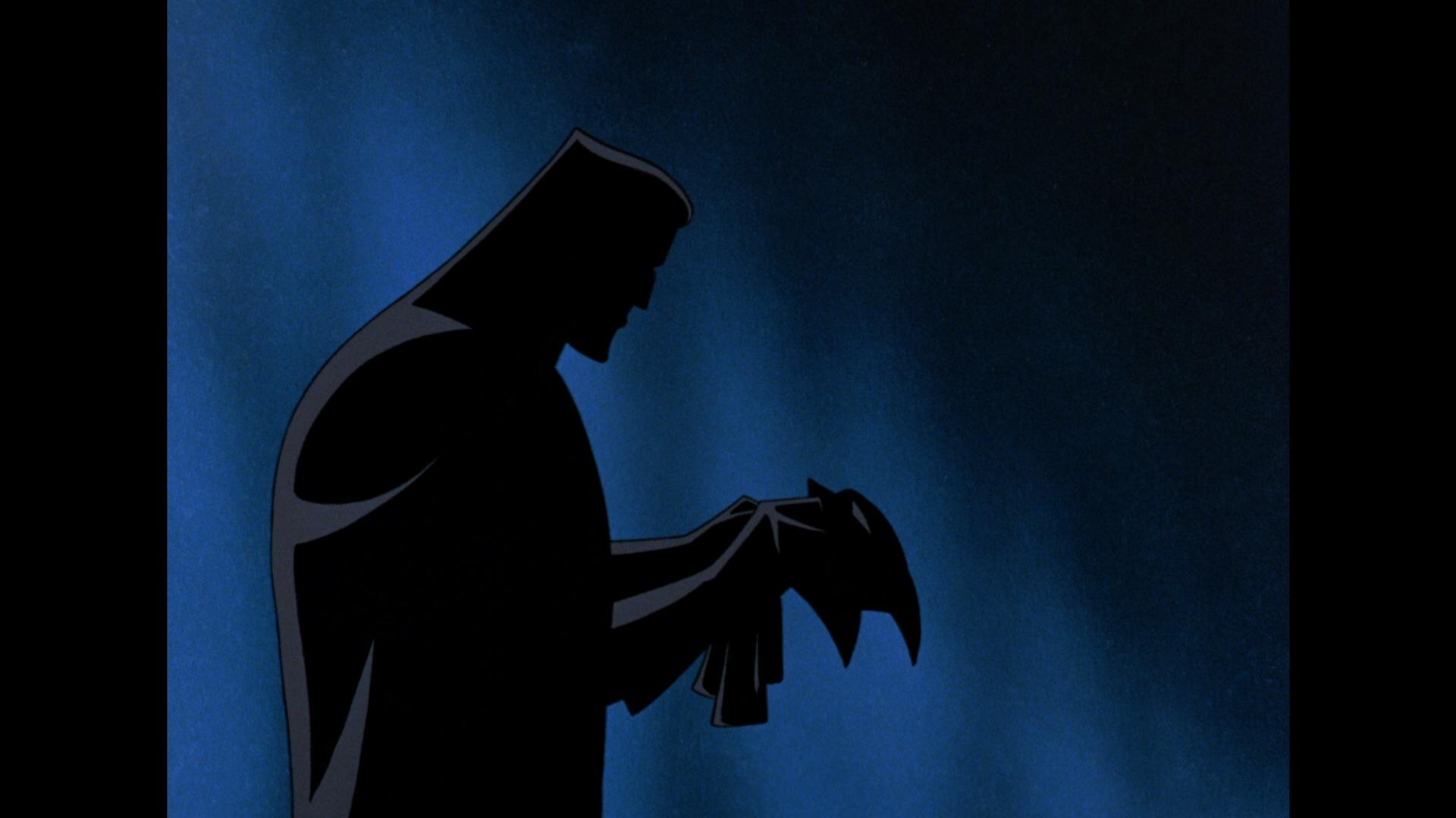 Batman: Mask of the Phantasm Blu-ray Review Cowl