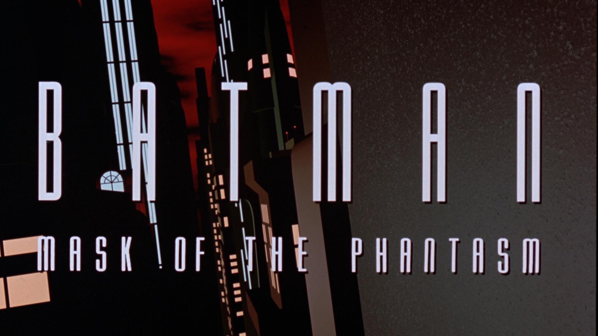 Batman: Mask of the Phantasm Blu-ray Title Wide