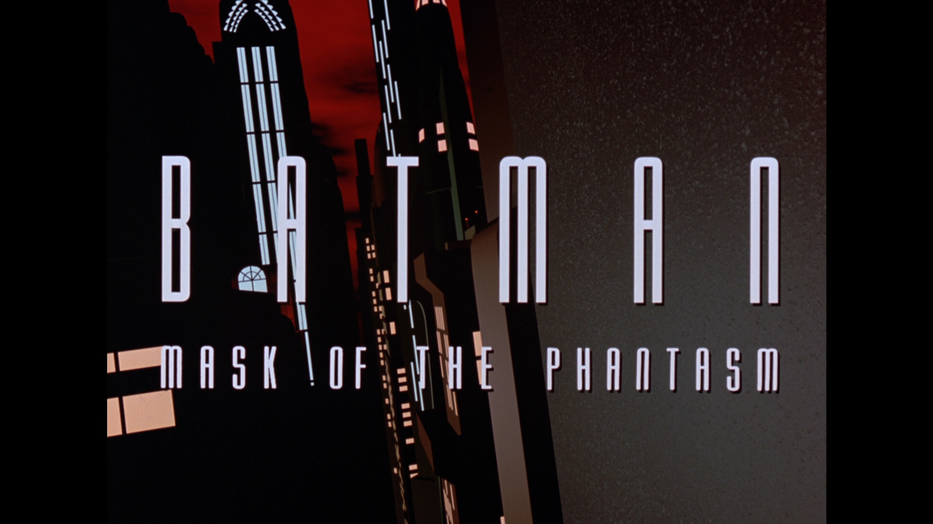 Batman: Mask of the Phantasm Blu-ray Review Title Standard