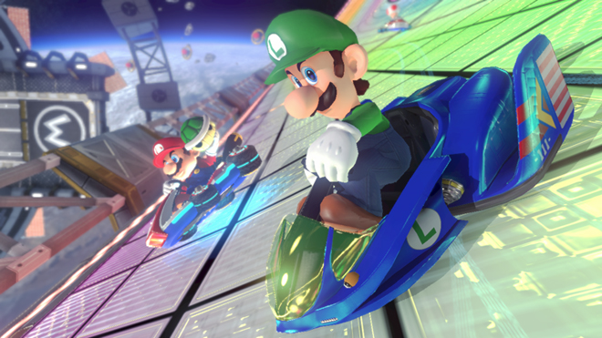 Mario Kart 8 Blue Falcon F-Zero DLC Pack Add on Content Wii U