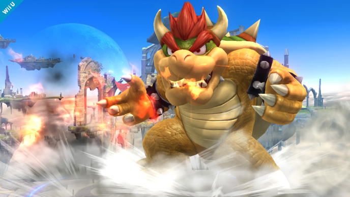 Super Smash Bros. for 3DS Fighter Roster List Bowser Moveset Strategy